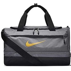 NWT Nike Bag Sprint Duffel Grey Yellow Unisex